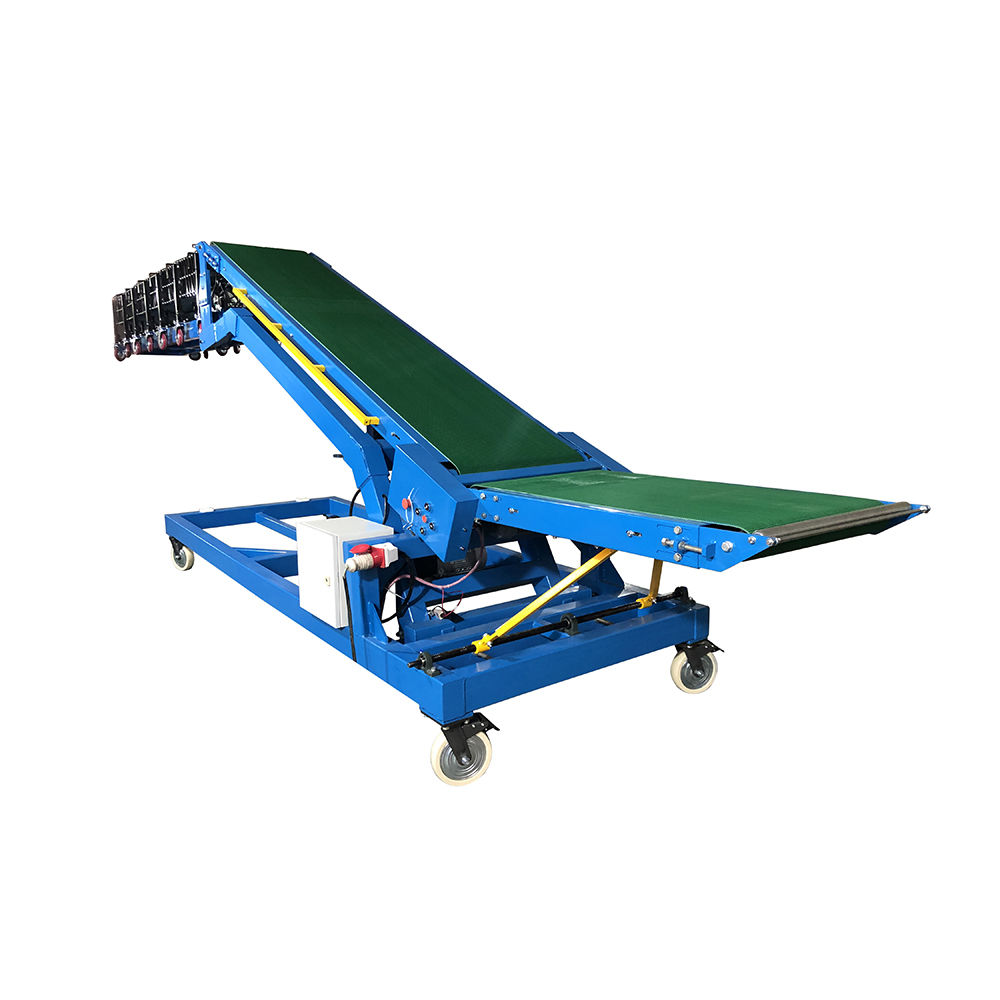 Cheap price Telescopic Truck Loading Unloading Belt Conveyor System