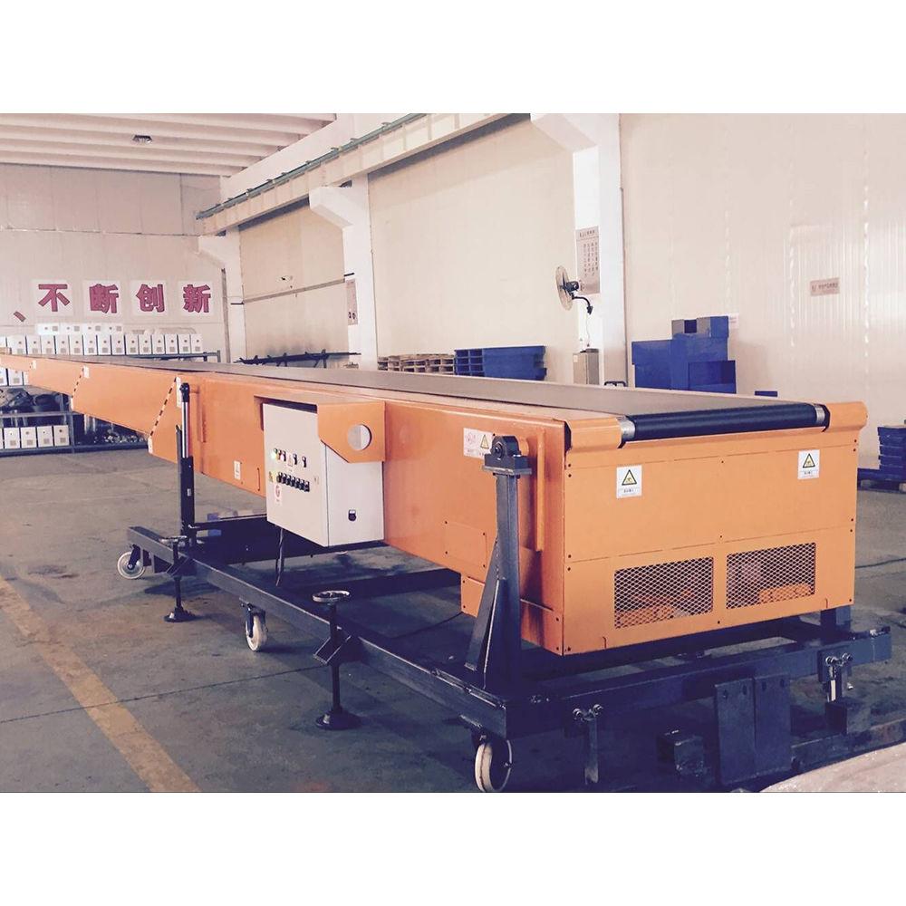 Factory price movable telescopic belt conveyor system telescopic loader