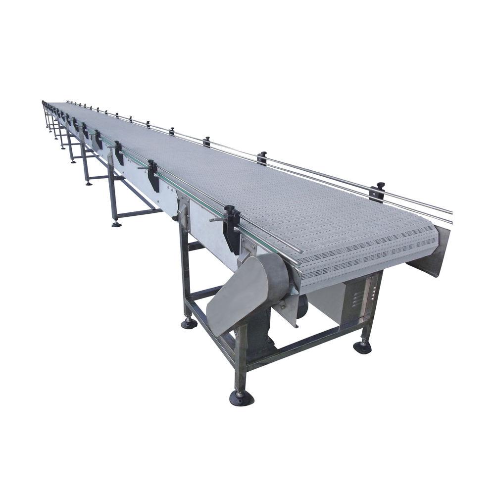 Factory price modular plastic belt conveyor for vegetable