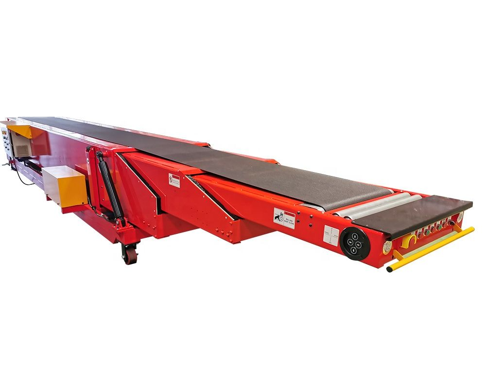 Professional manufacture cheap system 3 stages mobile telescopic belt conveyor