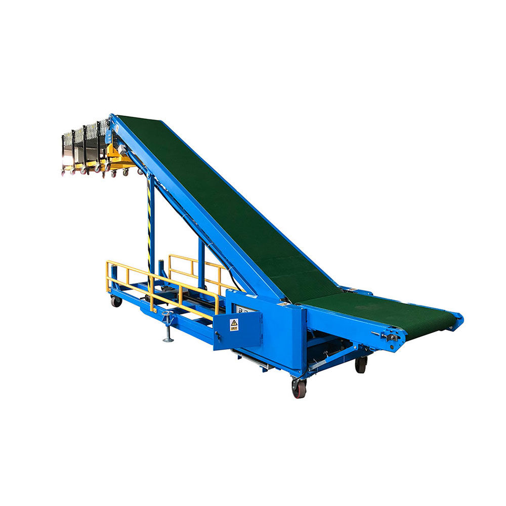 Automatic Trailer Van Truck Container Car Loading and Unloading Conveyor
