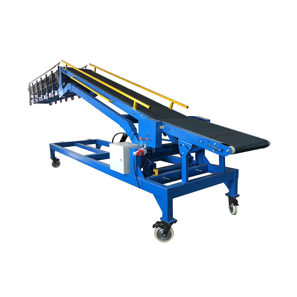 Wholesale high quality 20ft container loading unloading conveyor portable truck loader conveyor factory price