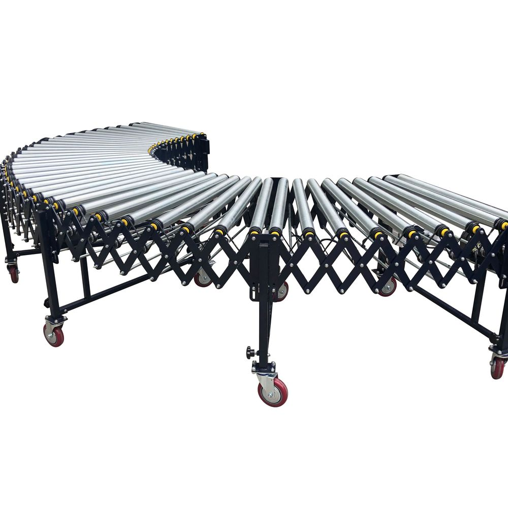 Online shop hot selling mobile roller conveyor machine with high quality