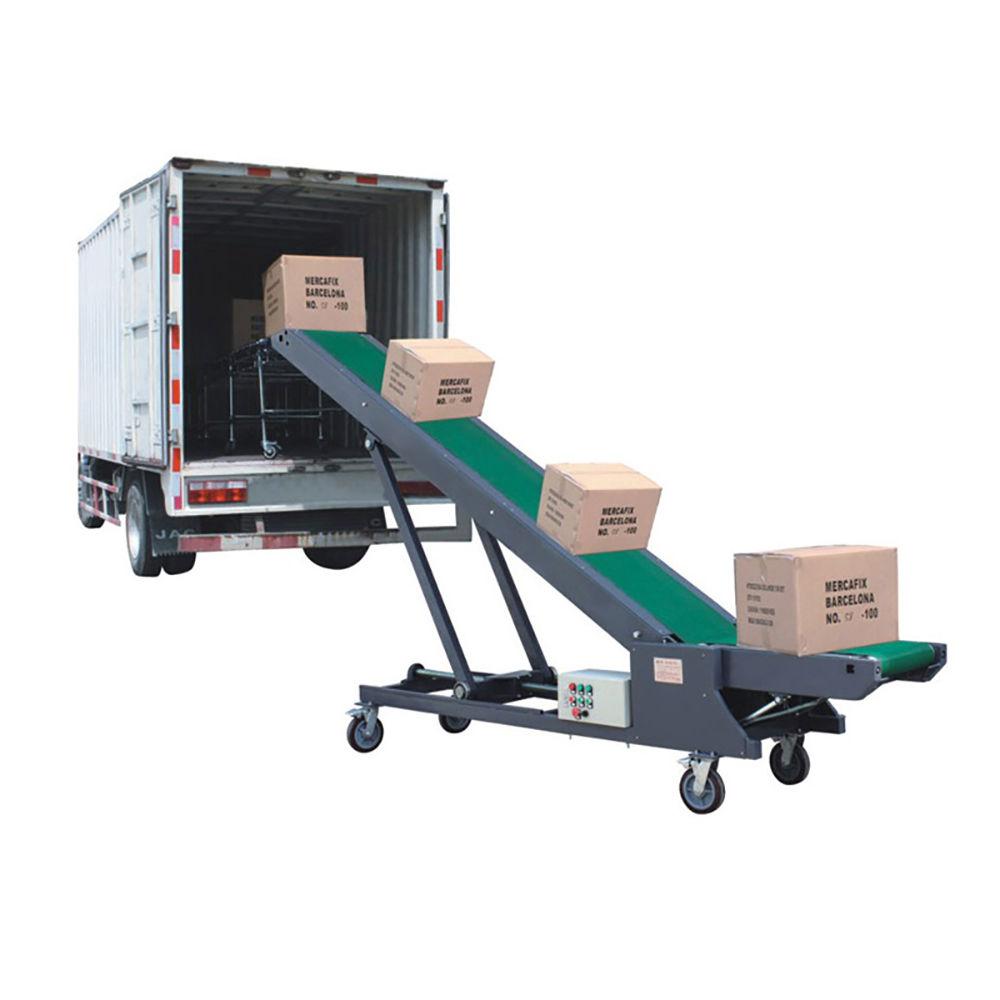 Portable Conveyor for Truck Unloading Mobile Loader Lorry Conveyor Belt