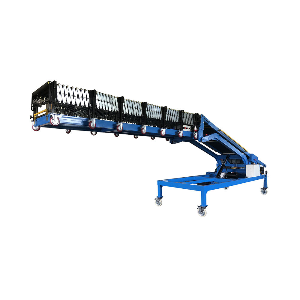 High standard efficiency Incline Heavy-duty Conveyor for truck loading and unloading