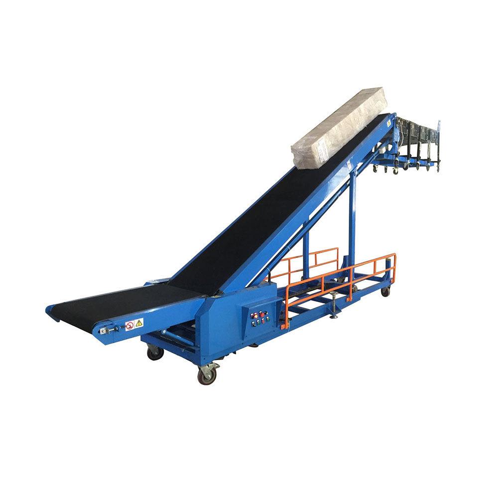 Van Truck Container Loading Conveyor Combined Extendable Powered Roller Conveyor