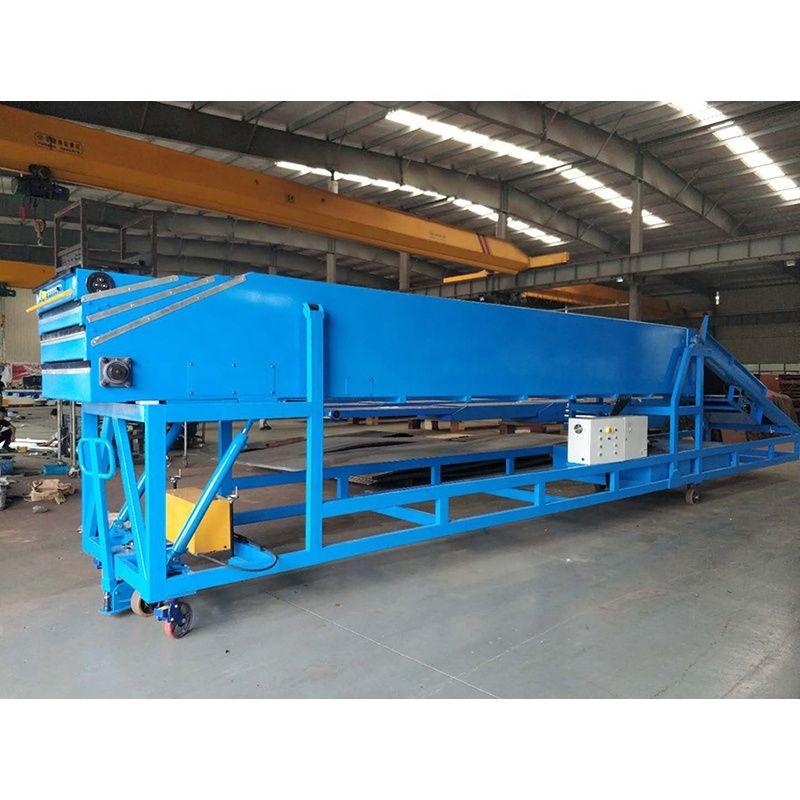 Cheap industrial portable telescopic belt conveyor cutting machine for supplier