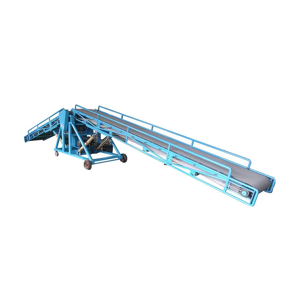 50kg bag cement loading conveyor fruit loading dock conveyor