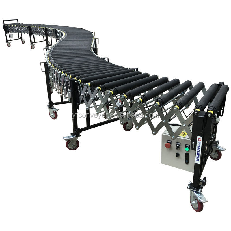 wholesale motorized roller conveyor with high quality for loading and unloading goods