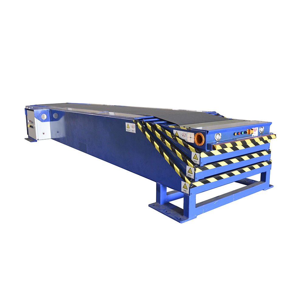 Hot selling 40ft Container loading unloading telescopic belt conveyor