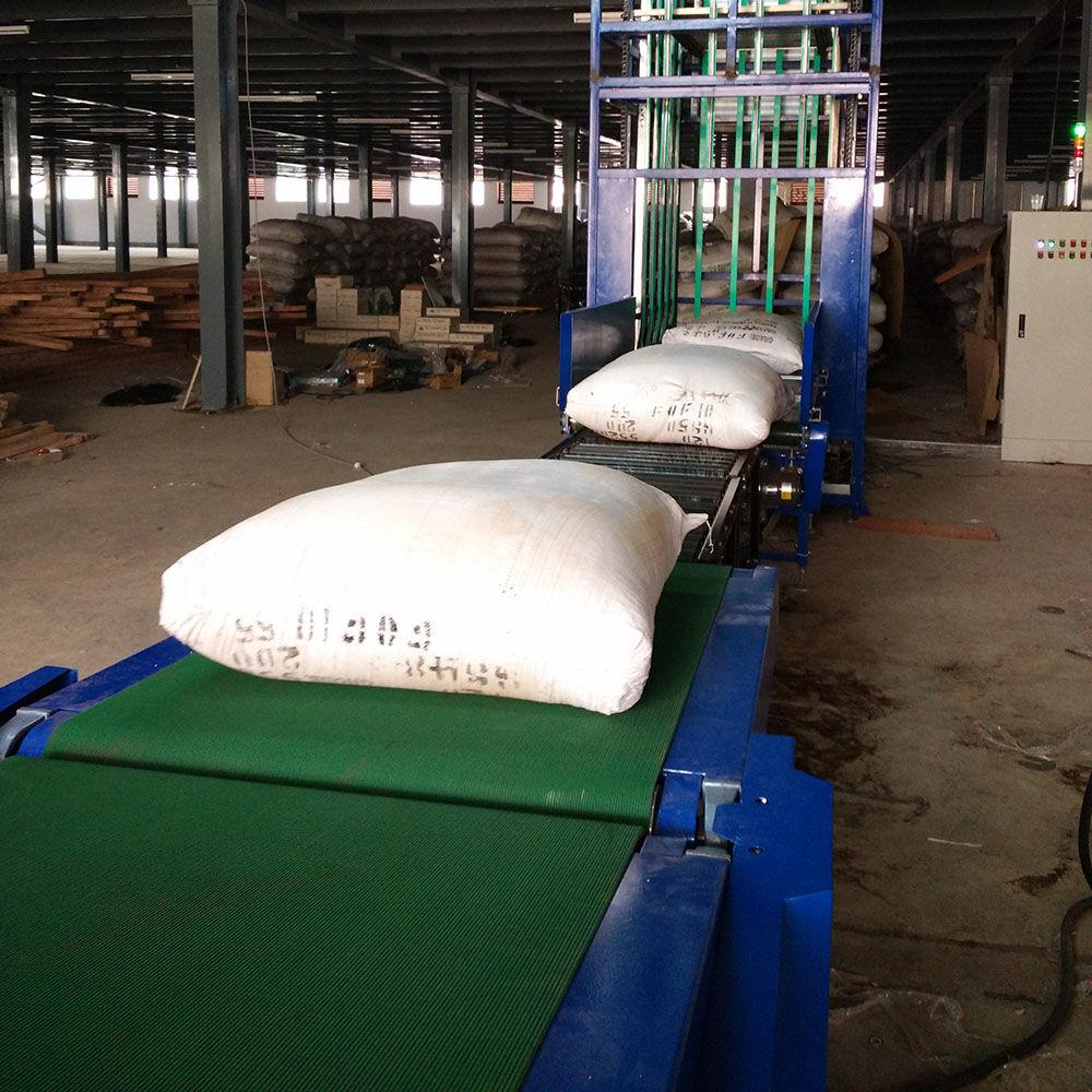 50KG Jute Bag Loading and Unloading Machine,Grain Unload Conveyor Belt System