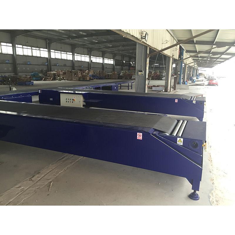 Robotic loading unloading machine,automatic truck loading conveyor