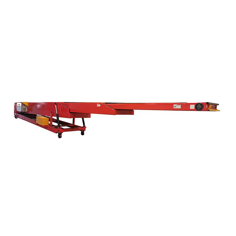 Fashion expandable belt conveyor unloading system for factory