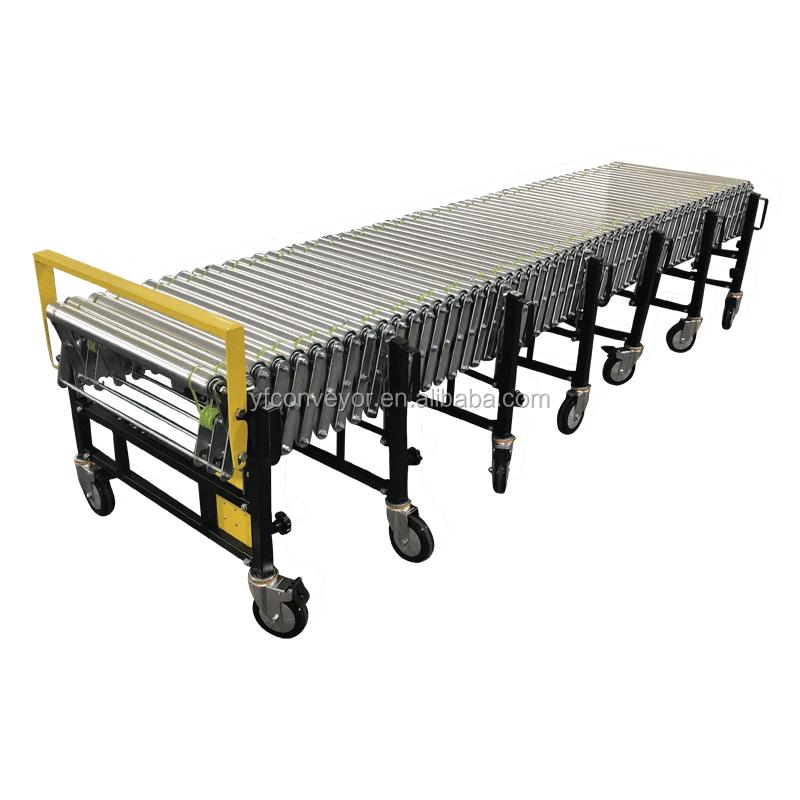 Factory direct sales powered flexible belt conveyor