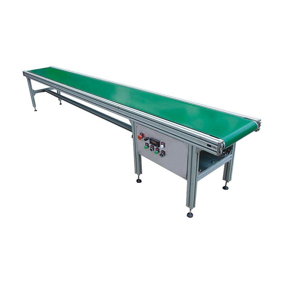 Industrial Portable Electric Motor Light Duty Aluminum PVC Belt Conveyor