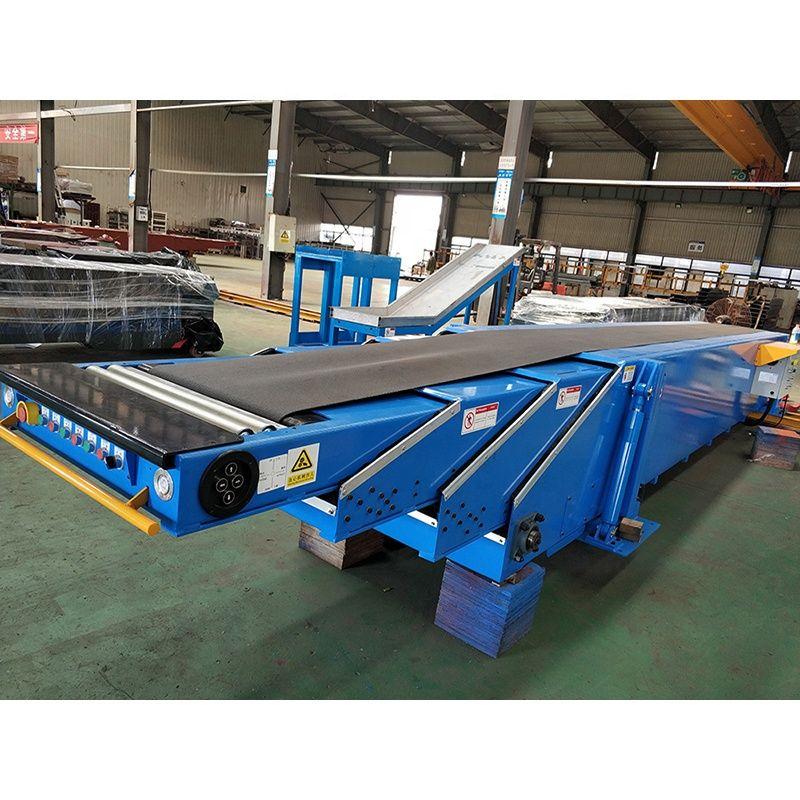 Telescopic belt conveyor / general industrial equipment / material handling equipment / conveyors