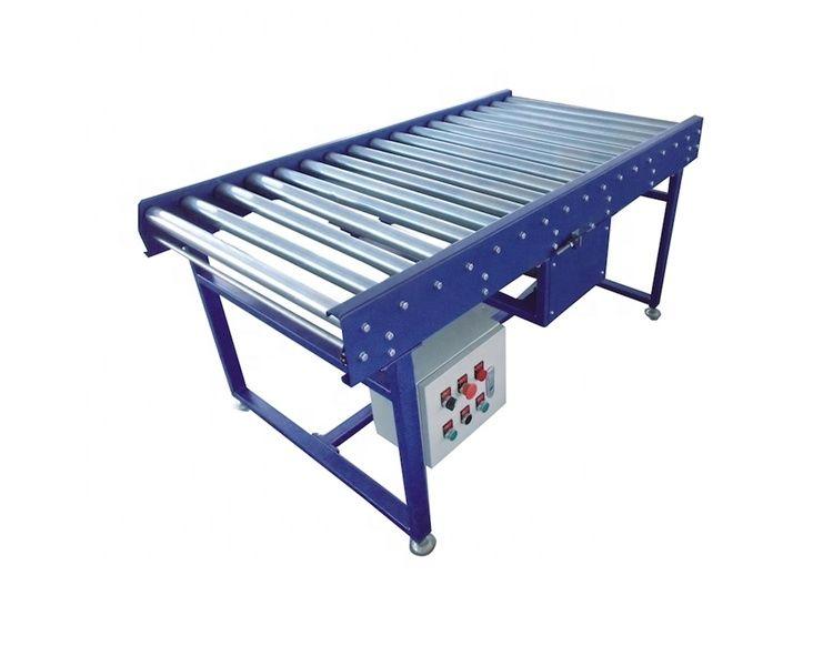 Economical custom design belt mini warehouse motorized roller conveyor
