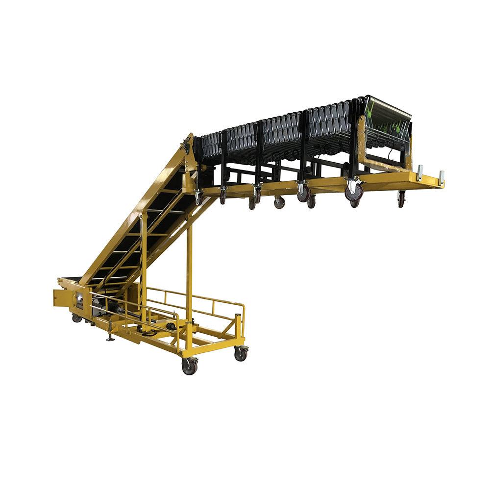 Portable Conveyor Belt with Adjustable Height Warehouse Loading & Unloading Conveyor