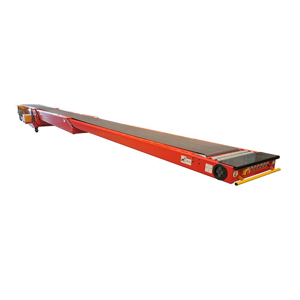 Factory price newest telescopic belt conveyor for truck unloading