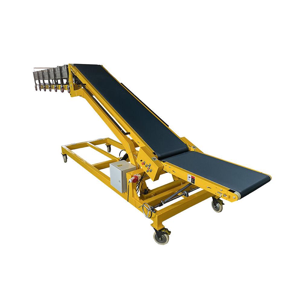 Bag Loading Belt Conveyors for Truck Loading Adjustable Height Belt Conveyor