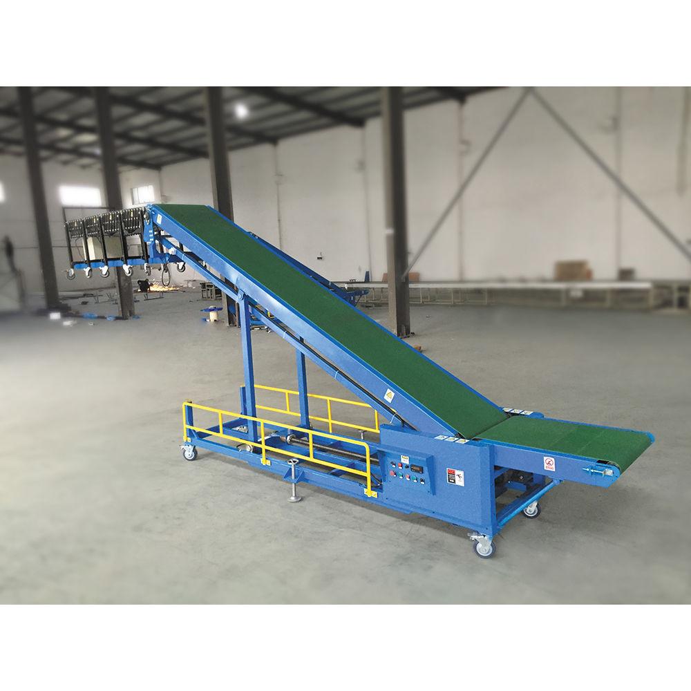 Automatic Truck Load Belt Conveyor Conatiner Conveyor Load Unload System