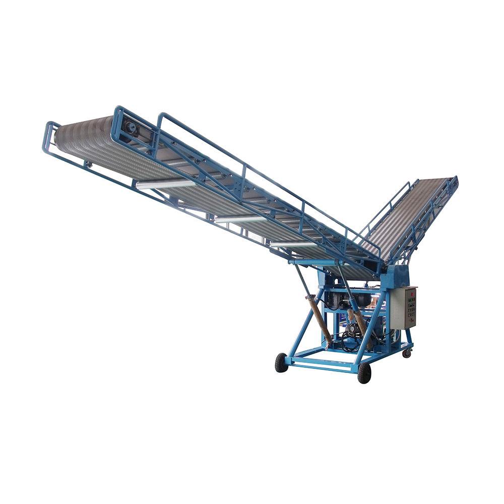 Popular design double-wing loading conveyor double-wing belt conveyor