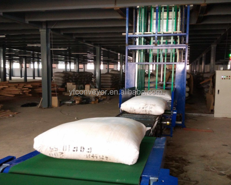 continuous lifting conveyor for vertical transportation vertical lifting conveyor