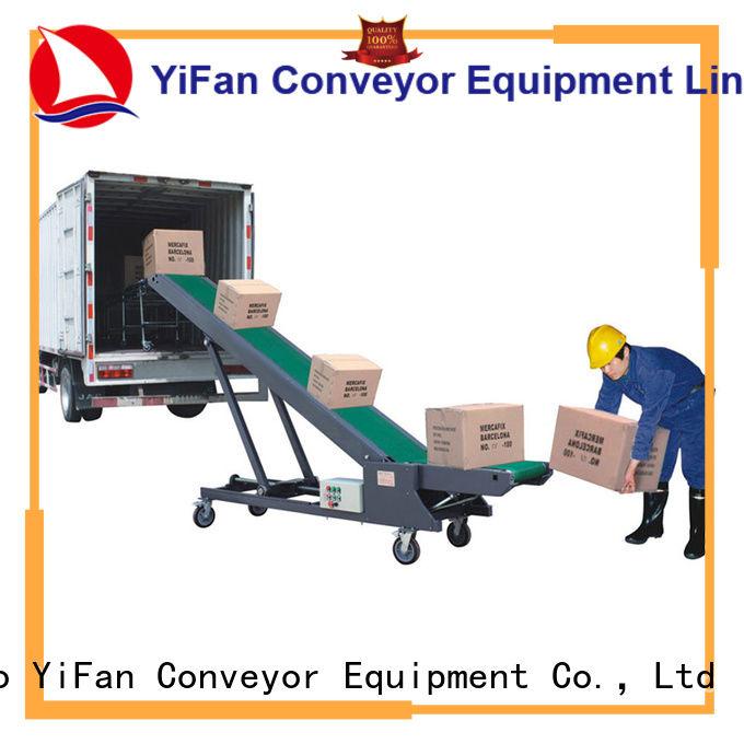 YiFan conveyor portable conveyor system China supplier for warehouse