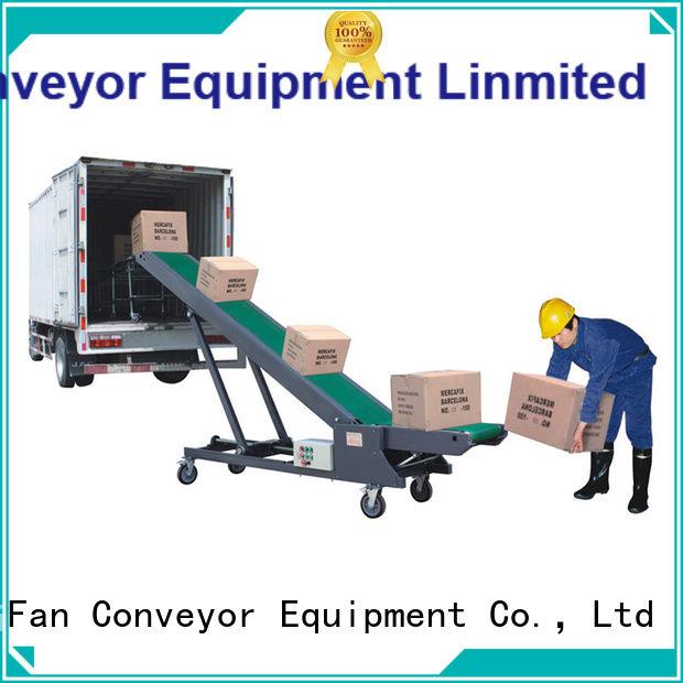 YiFan conveyor truck loading belt conveyor manufacturer for factory