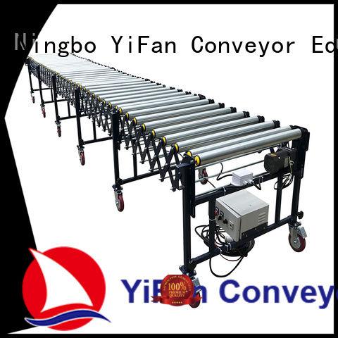 YiFan belt flexible gravity conveyor trader for harbor