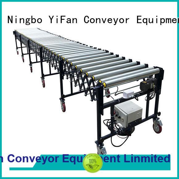 low cost flexible motorized roller conveyor conveyorv inquire now for harbor
