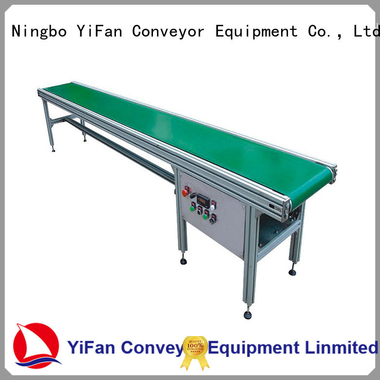 YiFan china manufacturing industrial conveyor belt manufacturers for daily chemical industry