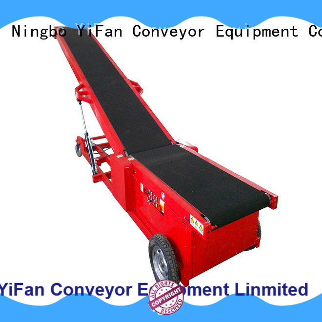 YiFan portable truck unloading conveyor chinese manufacturer for warehouse