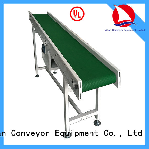 YiFan belt rubber conveyor belt manufacturers with bottom price for packaging machine