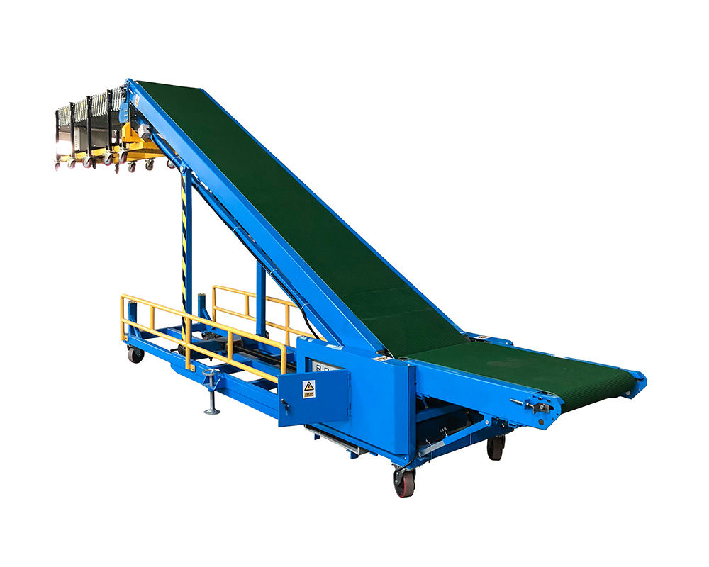 Automatic trailer,van,truck,container Loading and Unloading Conveyor | TLC-P600