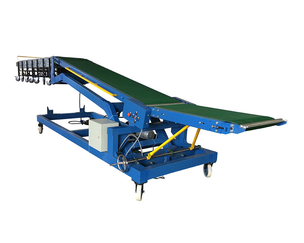 20ft container loading unloading belt conveyor system CBLC-600