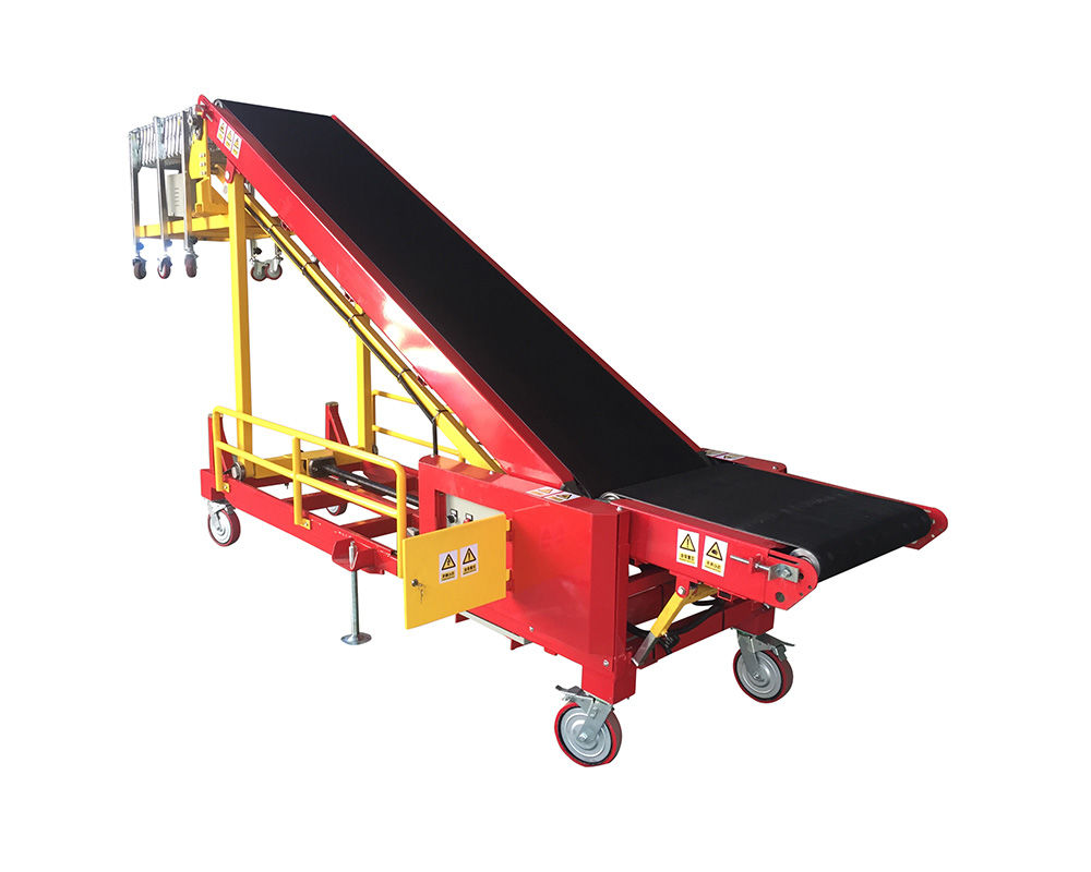 Mini Portable Vehicle Loading Conveyor