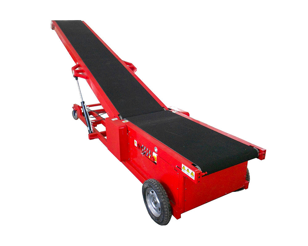 Auto Walking Container Loading Conveyor | TLC-W800