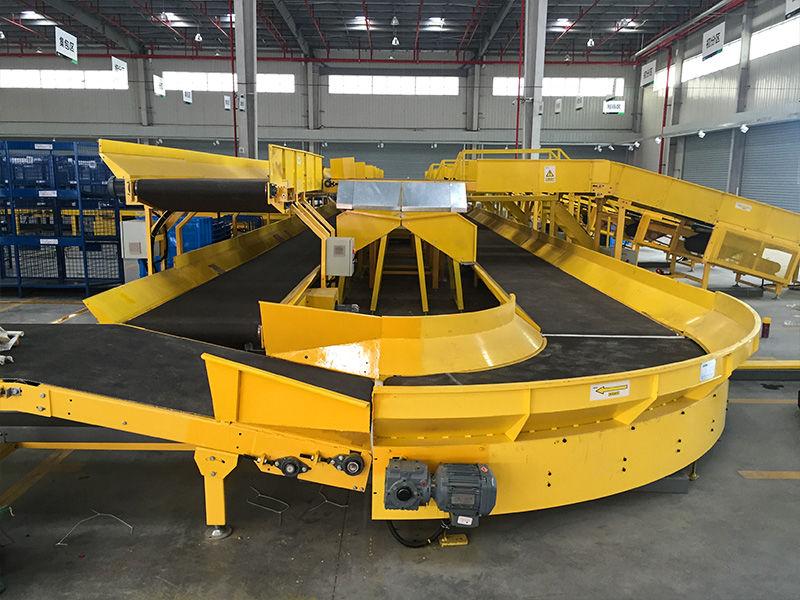 Vehicle loading conveyor for Ane Express