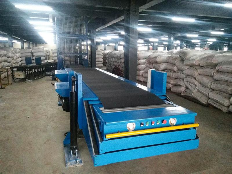 Bangladesh Tea Factory-Vertical Lifting Conveyor-Z Type