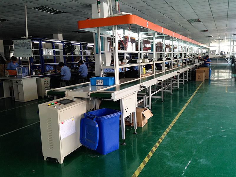 Belt Conveyor Ningbo LED Lights Assembly Line