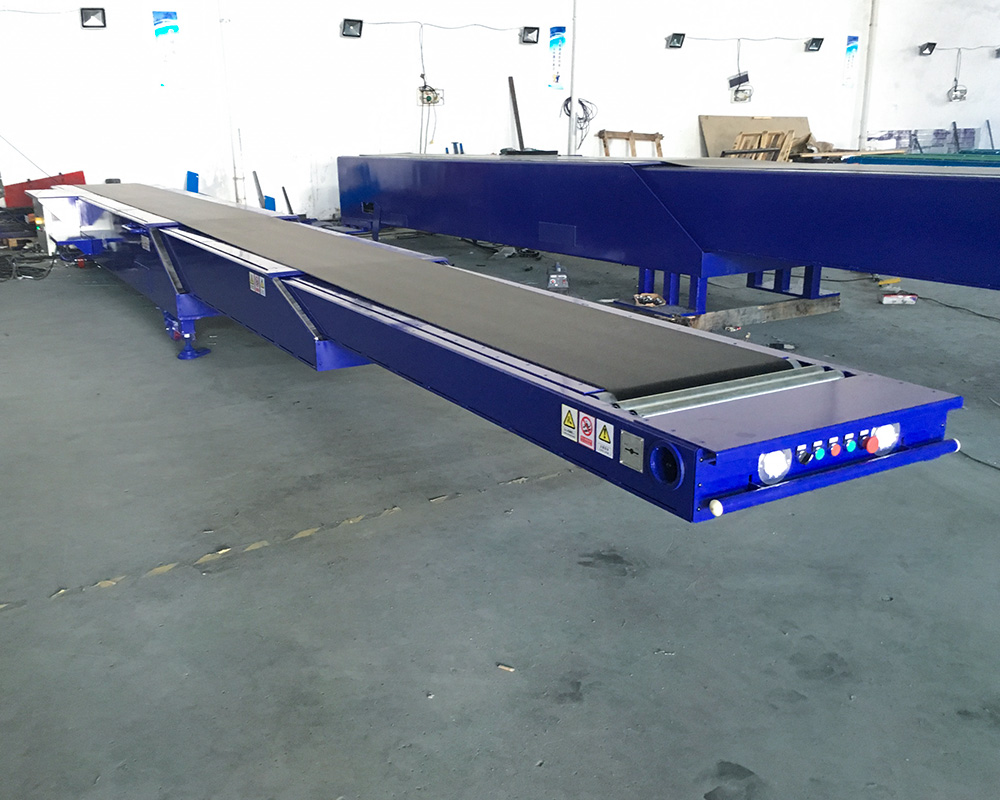 YiFan telescopic telescopic conveyor manufacturers for food factory-1