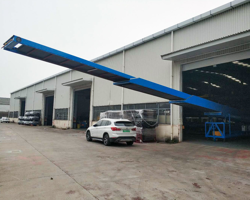YiFan platform belt conveyor for warehouse-2