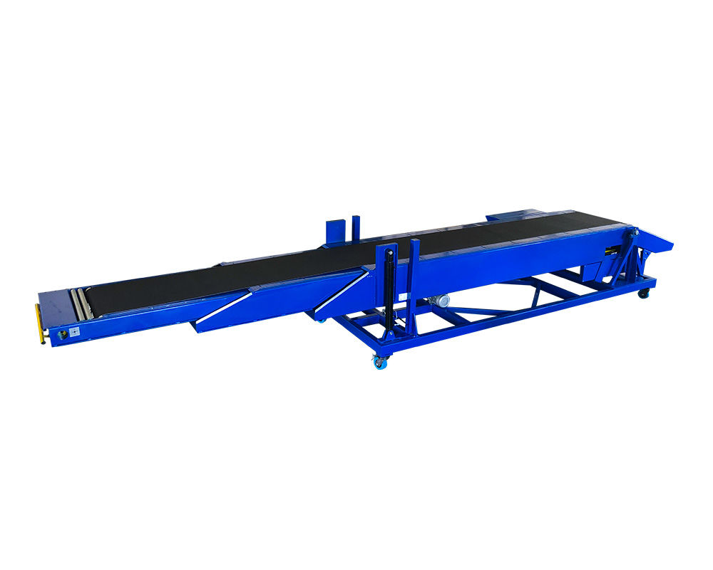 Mobile Telescopic Belt Conveyor with Tail Boom