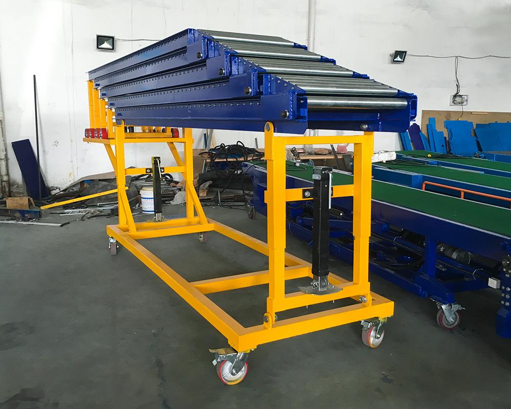 Custom telescopic roller unloading supply for mineral-2