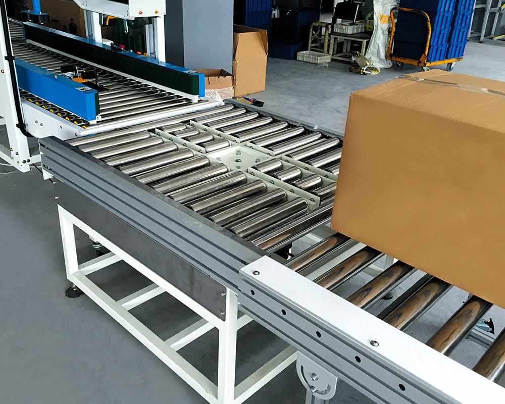 YiFan powered 90 degree curve conveyor company for warehouse-2