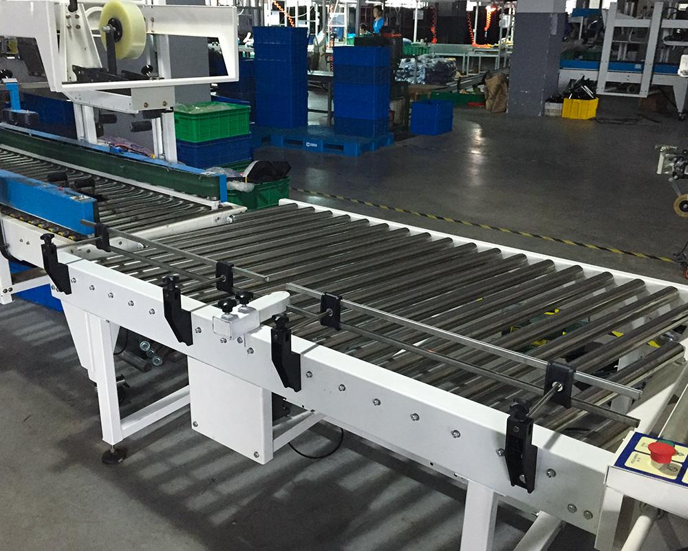 YiFan powered 90 degree curve conveyor company for warehouse-1