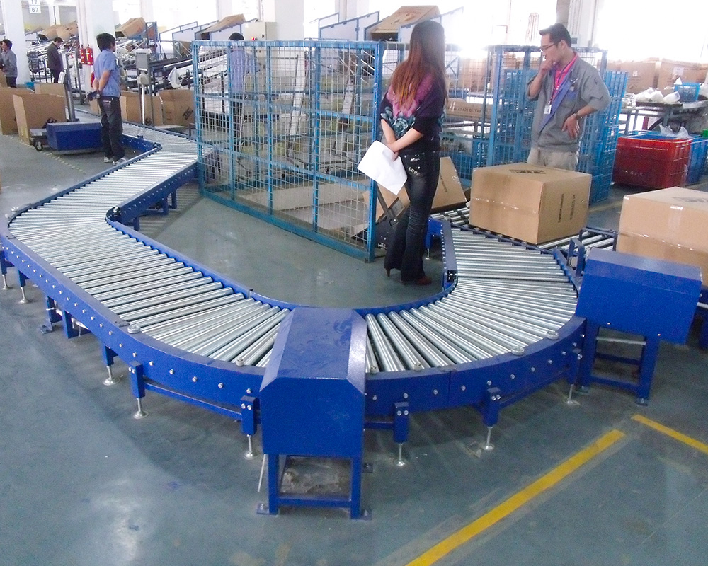 YiFan latest conveyor systems manufacturers manufacturer for material handling sorting-1