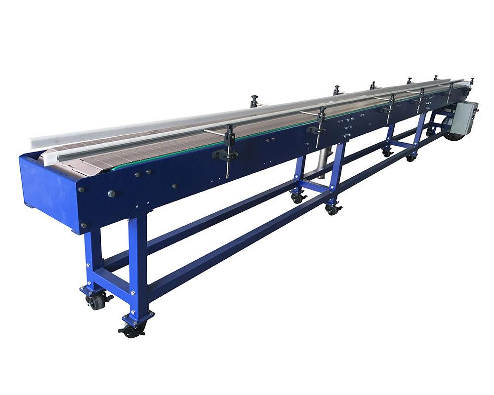 Plastic Modular Slat Chain Conveyor
