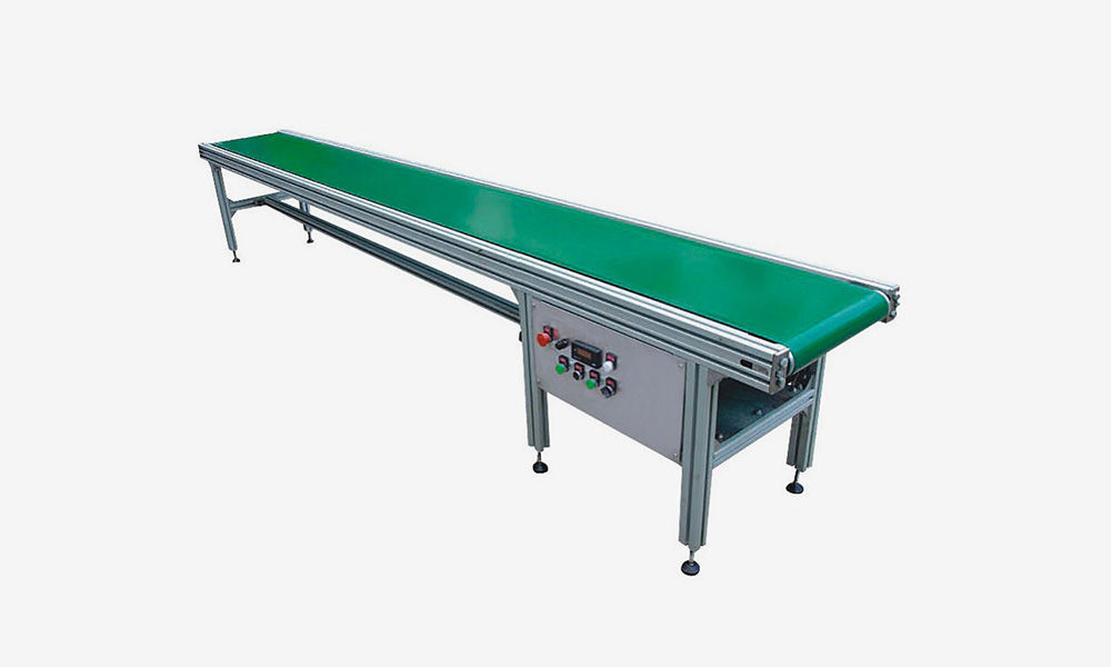 Light Duty Aluminum PVC Belt Conveyor Manufacturer